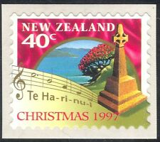 New Zealand 1997 Christmas/Greetings/Music/Cross/Flowers 1v s/a (n29663)