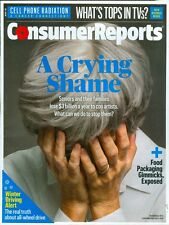2015 Consumer Reports Magazine: Seniors Lose to Con Artists/Food Packaging
