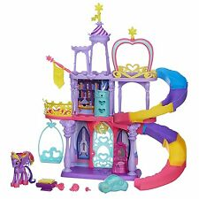 Hasbro Toy My Little Pony Sparkle magic Kingdom castle Girl Rainbow Playset Game