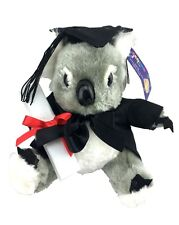 8'' Sitting Graduation Koala Bear Plush Soft Toy Australian Animal Graduat. Gift