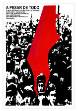"Cuban decor Graphic Design movie Poster 4 film""NEVERTHELESS""Red Flag art"