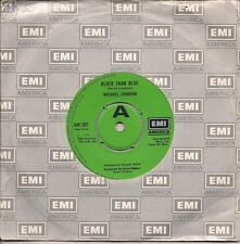 """Michael Johnson  Bluer Than Blue / Two In Love UK 45 7"""" single +Two In Love"""