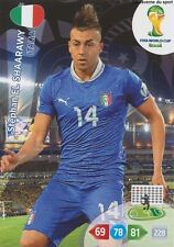 N°220 STEPHAN EL SHAARAWY # ITALIA PANINI CARD ADRENALYN WORLD CUP BRAZIL 2014
