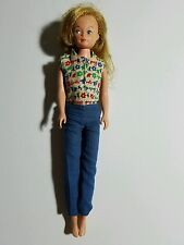 VTG GROW HAIR CRICKET DOLL AMERICAN CHARACTER TRESSY'S SISTER 9""