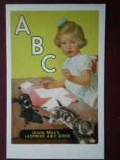 POSTCARD  LADYBIRD BOOK COVER - ABC UNCLE MAC'S