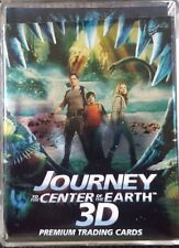 JOURNEY TO THE CENTER OF THE EARTH 3D TRADING CARDS COMPLETE 50 CARD SET !