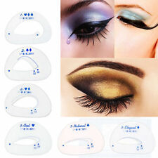 6Pcs Eyebrow Eyeshadow Eye Stencil Models Template Shaper Beauty Makeup Tool