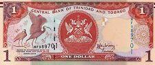 TRINIDAD & TOBAGO $1 Dollar 2006 P46 UNC Banknote