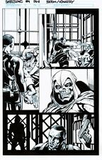 BATTLE SCARS 4 pg 11 TASKMASTER VS NICK FURY JR (NEW NICK FURY)