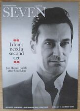 Jon Hamm – Seven magazine – 24 August 2014