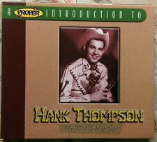 A Proper Introduction to Hank Thompson: The Wild Side of Life by Hank...