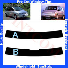 Pre Cut Window Tint Sunstrip for Peugeot 806 5 Doors 1994-2002 Any Shade