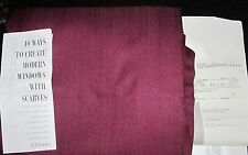 """NEW JC Penny 44"""" x 144"""" Woodland Drapery Window Scarf Valance Wince Color Name"""