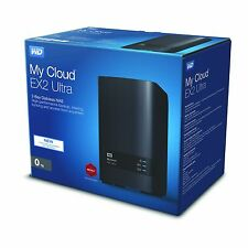 WD My Cloud EX2 Ultra NAS Personal Cloud Storage Enclosure (Diskless)