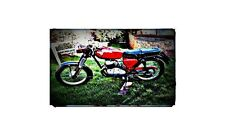 1966 Panther 250 Twin Bike Motorcycle A4 Retro Metal Sign Aluminium