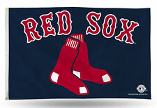 "Boston Red Sox MLB Banner Flag 3' x 5' (36"" x 60"") ~NEW"