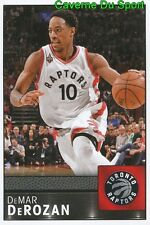 061 DEMAR DEROZAN USA TORONTO RAPTORS STICKER NBA BASKETBALL 2017 PANINI