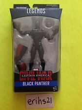 "*BLACK PANTHER* MARVEL LEGENDS CAPTAIN AMERICA CIVIL WAR 6"" FIGURE GIANT MAN BAF"