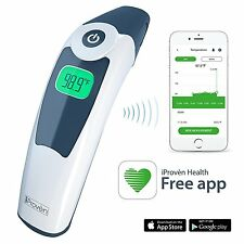 Smart Ear Thermometer - iProvèn ET-828BT Clinical Thermometer and Mobile App