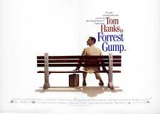 Original Vintage UK Mini Quad Poster Tom Hanks Forrest Gump