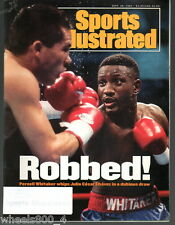 1993 Sports Illustrated Pernell Whitaker Julio Cesar Chavez Subscription Issue