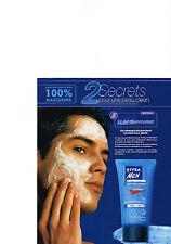 PUBLICTE  2000   NIVEA  for men  pureté du visage