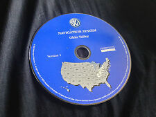 2004 VW TOUAREG NAVIGATION MAP DISC CD 6 OHIO VALLEY KY TN IN OH WV PA NY OEM