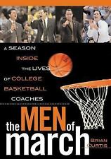 The Men of March: A Season Inside the Lives of College Basketball Coac-ExLibrary