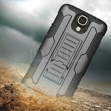 Armor Impact Hybrid Hard Case Cover Holster Skin For Samsung Galaxy Mega 2 G750