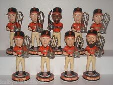 SAN FRANCISCO GIANTS Bobble Head Set 2012 World Series Walgreen's Trophy Edition
