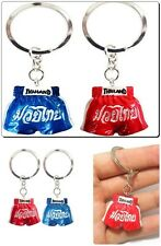 2X MUAY THAI KEYCHAIN,KEYRING COLLECTIBLES MUAYTHAI SHORT KICK BOXING 2PCS.