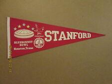 NCAA Stanford Cardinals 1978 Bluebonnett Bowl Pennant