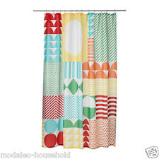 IKEA NIMMERN SHOWER CURTAIN  PERFECT DESIGN FOR KIDS' BATHROOM 180 X 180CM-B787