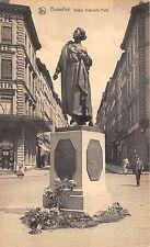 BF35301 bruxelles statue gabrielle petit belgium front/back scan