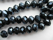 12mm Beads Beautiful Faceted Rondelle Glass Crystal in Loose For Craft Making