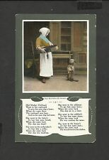Vintage Comic Colour Postcard Old Mother Hubbard and Dog (6) Unposted