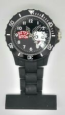 Nurse fob watch Betty Boop black BTY01/C