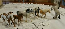 Schleich Lot of 6 Horses Mixed Years Stallions Mares Draft Horse