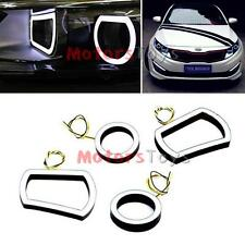 Angel Eye LED Day Light Diy Kit White Circle Eye Modules for Kia 11-13 Optima K5