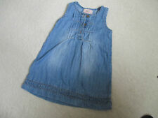 088 NEXT jeans dress  size 12-18 months 1.5-2 years