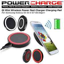 Qi Wireless Charger Mini Charge Pad For Samsung Galaxy S3 S4 5 S7 S6 Edge+