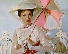 Mary Poppins Julie Andrews Umbrella 10x8 Photo