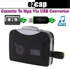 EZCAP Tape Recorder Cassette to MP3, Analog to Digital Audio Converter Via USB