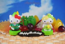 Hello Kitty Tinkerbell Peter Pan Cake Topper Decoration Figure Model K1204 CD