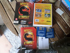 Mortal kombat by Aklaim  Amiga boxed Game Fair/good Condition booted