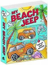 My Beach Jeep Fold-out Track Book (Book & Track)