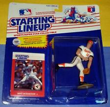 1988 MIKE BODDICKER Baltimore Orioles Rookie - low s/h - sole Starting Lineup