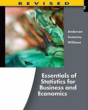 Essentials of Statistics for Business and Economics by David R. Anderson, Thomas
