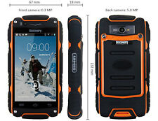 "Discovery V8 Waterproof 4.0"" 3G SmartPhone Android 4.2 GPS 5MP Camera Shockproof"