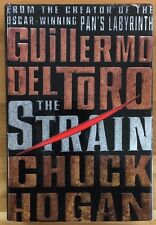 THE STRAIN Book One by Guillermo Del Toro and Chuck Hogan (2009) Morrow HC 1st